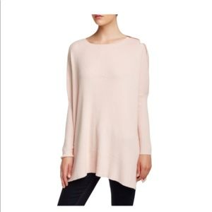 Ted Baker London Maggie Ribbed Poncho Sweater